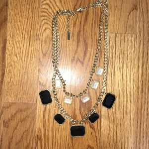 Adorable layered statement necklace!